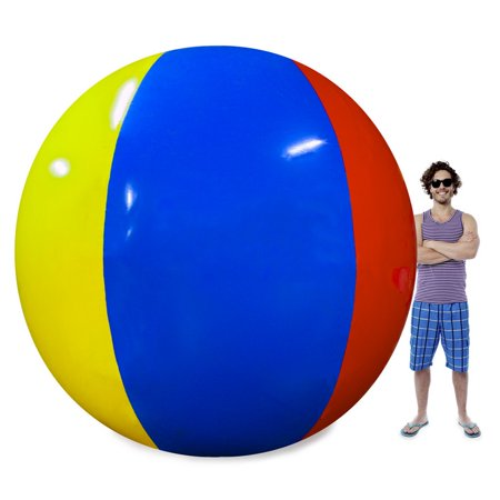 Brybelly  The Beach Behemoth Giant 12-Foot Beach Ball (Giant Puff Ball)