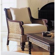Trinidad Arm Chair in Natural antique