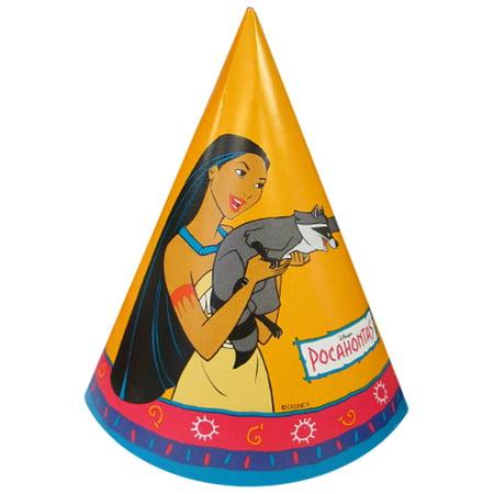 Pocahontas Vintage 1995  Cone Hats - Pocahontas Accessories