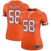 Von Miller Denver Broncos Nike Women's Color Rush Legend Jersey - Orange