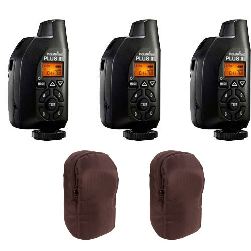 Pocket-Wizard I Transceiver (4 pcs) w/ Carrying Case