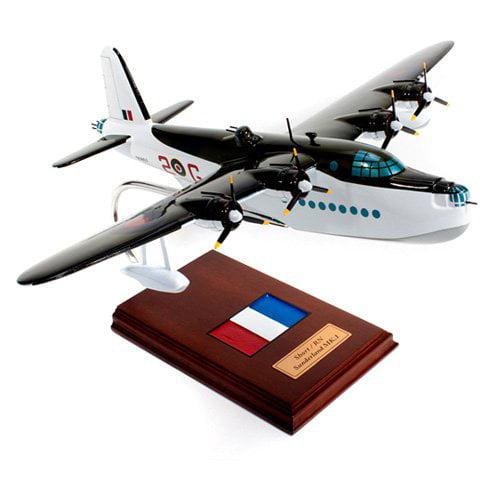 Daron Worldwide Short Brothers Sunderland Flying Boat Model Airplane by Daron Worldwide Trading