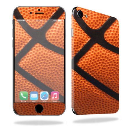 - MightySkins Protective Vinyl Skin Decal for Apple iPhone 7 wrap cover sticker skins Basketball