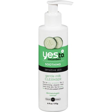 Yes To Cucumbers Gentle Milk Cleanser, 6 Fl Oz
