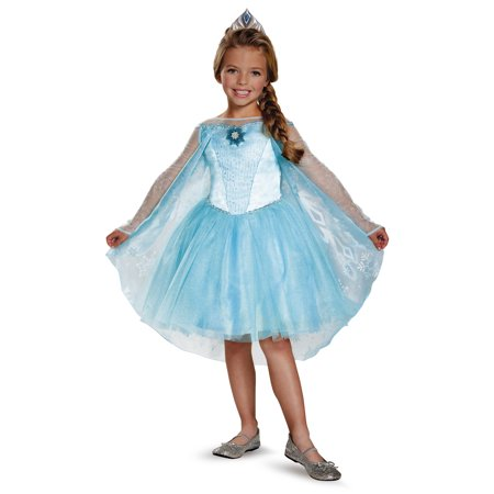 Frozen Elsa Prestige Tutu Child Halloween Costume](Elsa Van Helsing Halloween Costume)