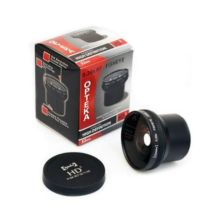 Deals Opteka HD2 0.20X Professional Super AF Fisheye Lens for Fuji FinePix S7000 S602 6900 Digital Camera Before Special Offer Ends