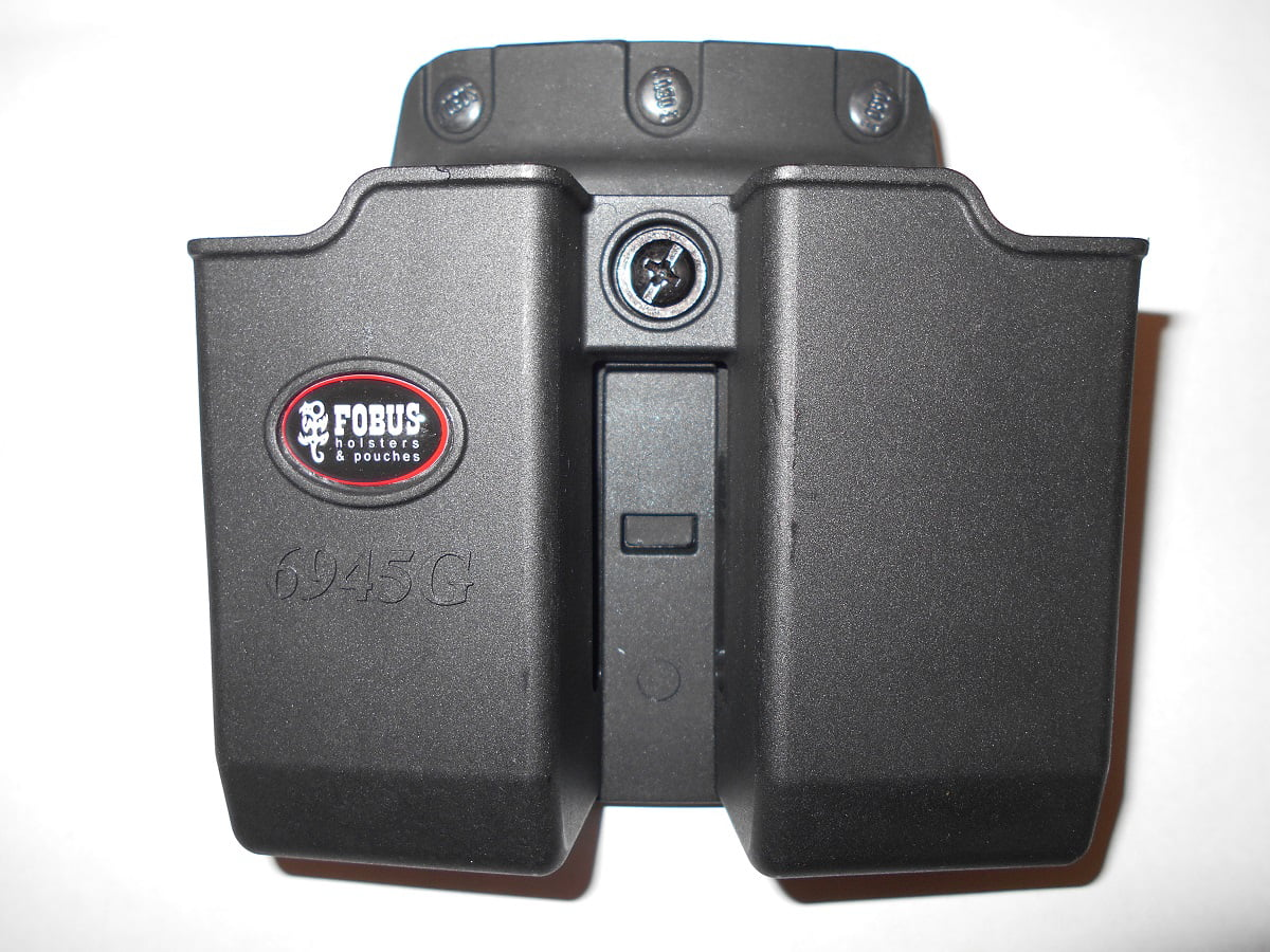Fobus Double Magazine Pouch .45 Double Stack fits Glock 6945NDBH by Fobus