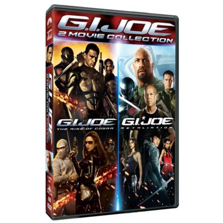 G I  Joe 2 Movie Collection  G I  Joe  Rise Of Cobra   G I  Joe  Retaliation  With Instawatch