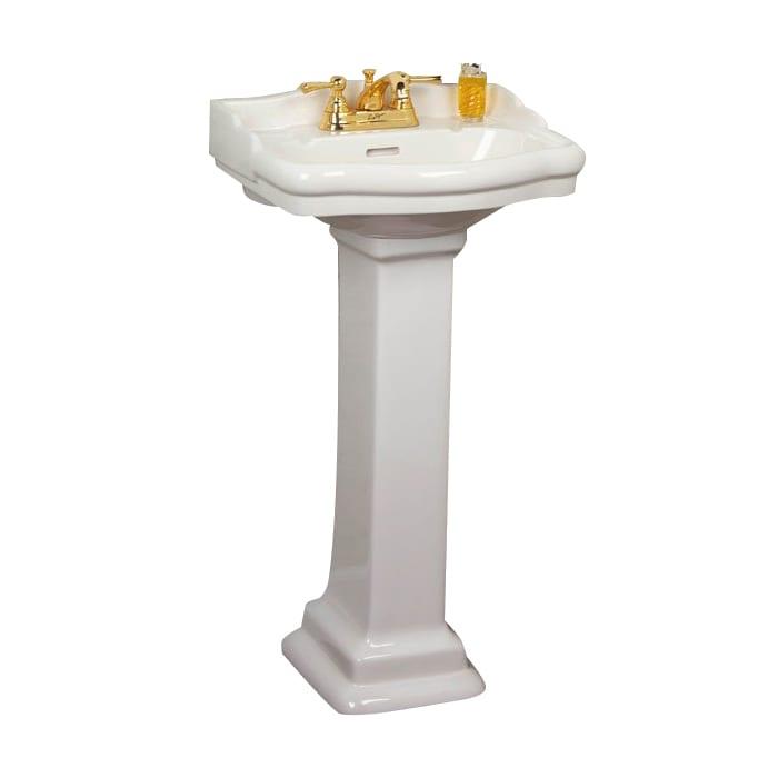 Barclay 3-8 Stanford Pedestal Sink