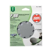 Ali Industries 2364685 5 in. Film Back Hook & Loop Sandpaper Disc - 100 Grit