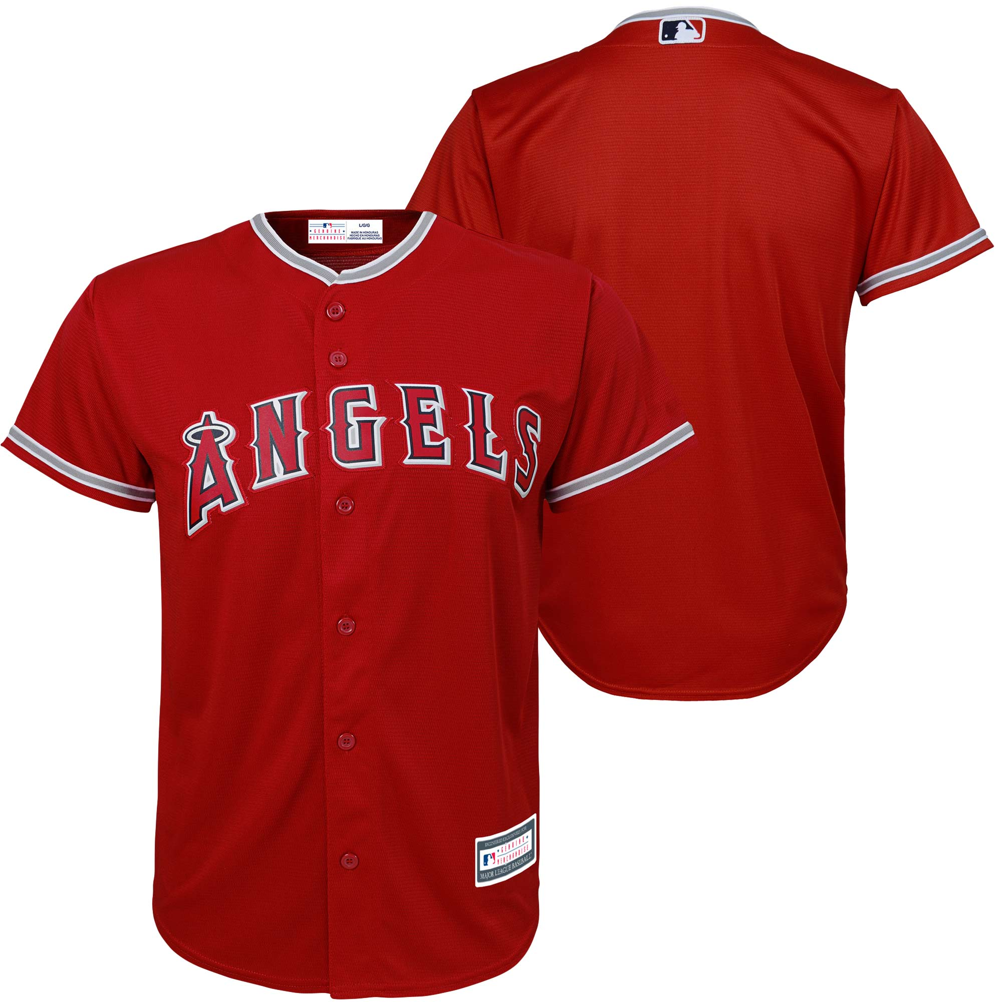 Los Angeles Angels Preschool Replica Team Jersey - Red