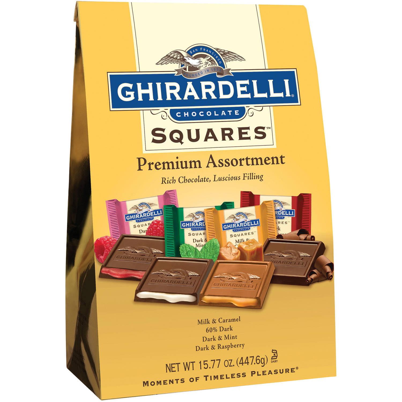 Ghirardelli Chocolate Squares Premium Assortment, 15.77 oz by Ghirardelli Chocolate Company