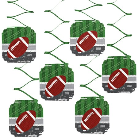 Football Birthday Decorations (End Zone - Football - Baby Shower or Birthday Party Hanging Decorations - 6)