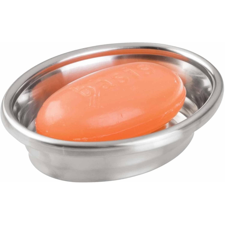 InterDesign Neo Soap Dish, Brushed