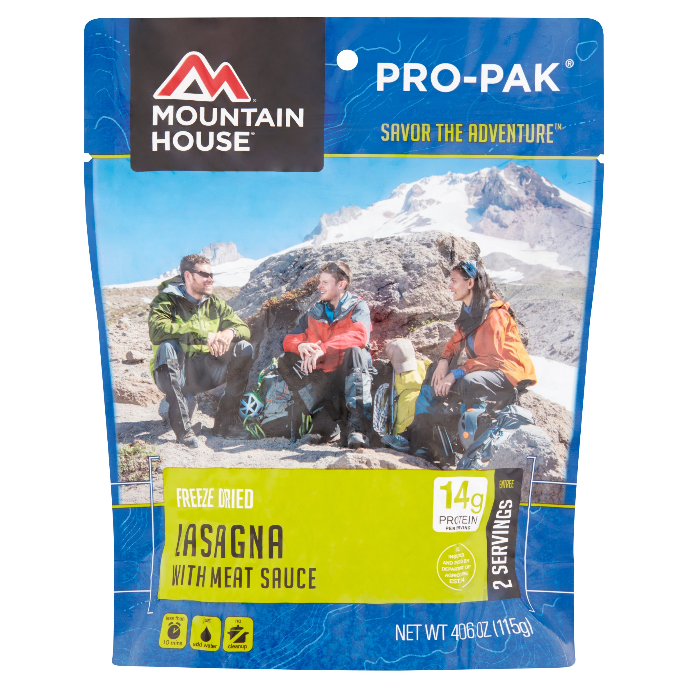 Mountain House Lasagna with Meat Sauce PRO-PAK by Mountain House is a division of OFD Foods, Inc.,