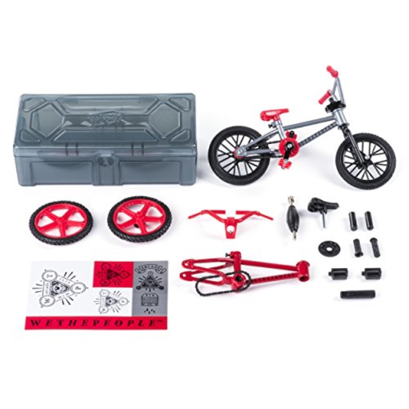Graphics Tech Deck Bmx Finger Bike Series 12 Flares And Finger Bike Games Cult And Moveable Parts For Flick Tricks Yellow Grinds Replica Bike With Real Metal Frame Bikes