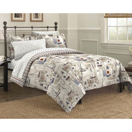 Cape Cod 7-piece Bed in a Bag with Sheet Set Queen