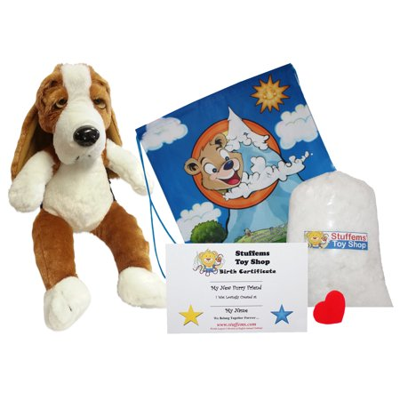 Make Your Own Stuffed Animal Basset Hound 16