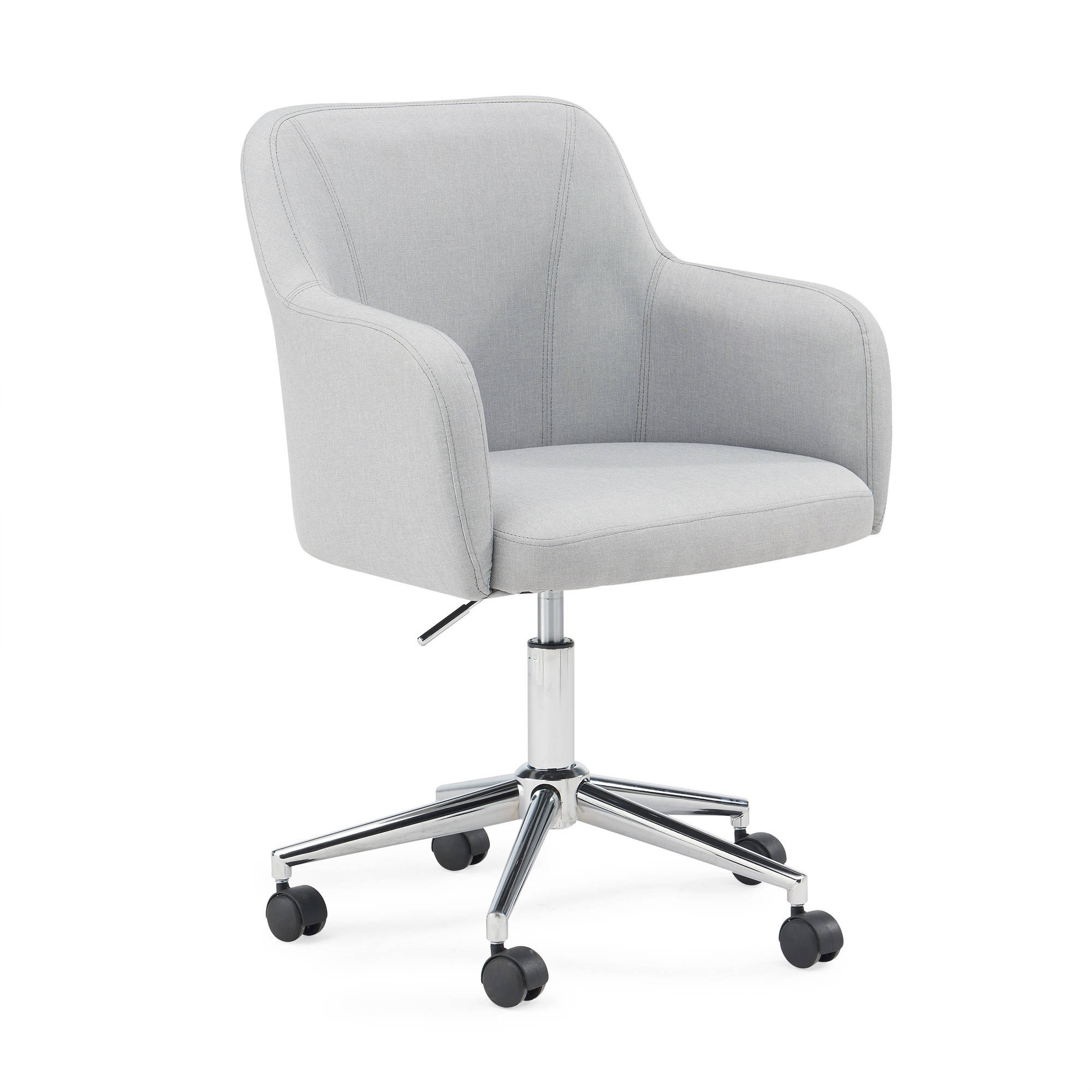 Mainstays Upholstered Low Back Office Chair, Multiple Colors