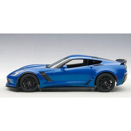 Chevrolet Corvette Stingray C7 Z06 Laguna Blue Tintcoat 1/18 Model Car by (Chevrolet Corvette Zo6)