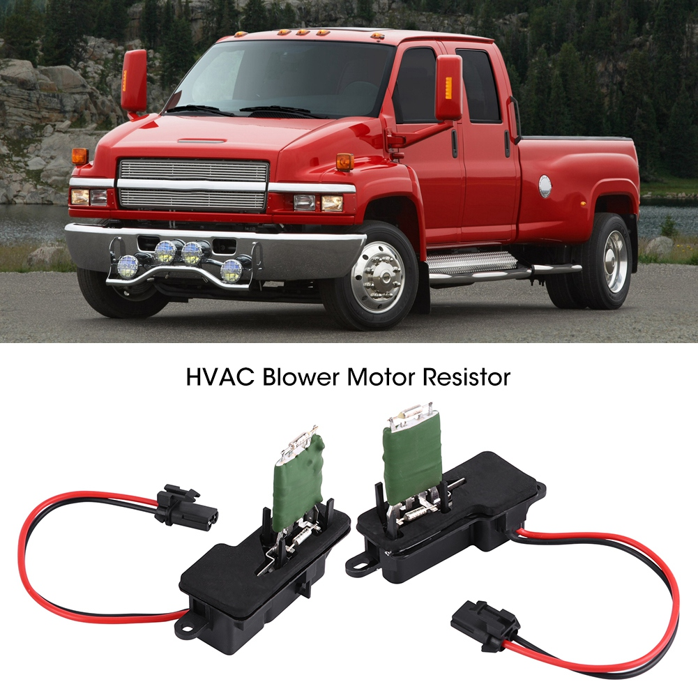 Front Heater A//C AC Blower Motor Resistor for Chevy GMC Pickup Truck