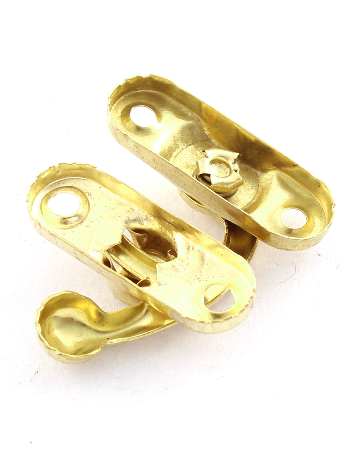 30 Pcs Left Swing Arm Closure Screw Fixing Packing Parts Cabinet Box Latch