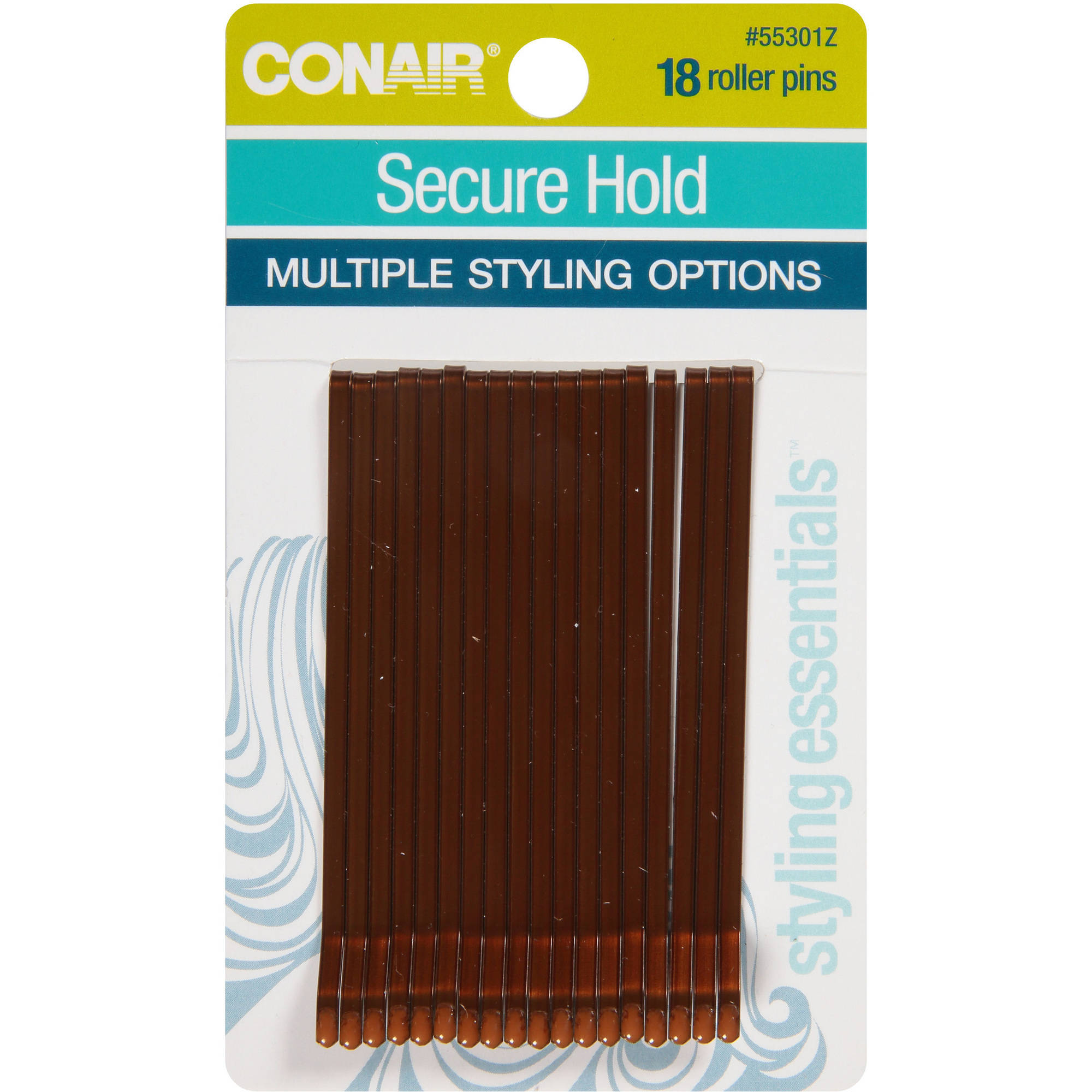 Conair Roller Bronze Pins (18-Count) (6-Pack)