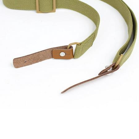 1pc Outdoor Gun sling Strap Hunting Camping Sling Single Point Tactical Belt - image 6 de 9