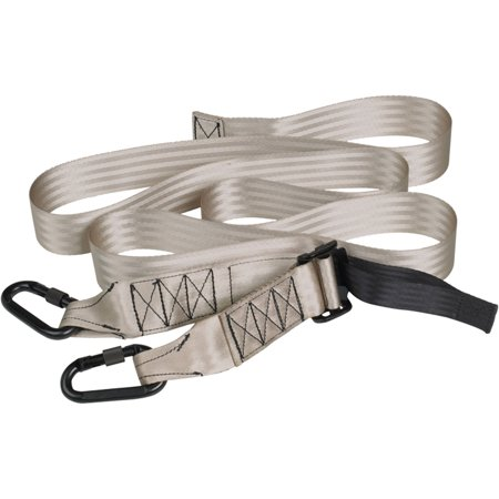 Webbing Tree Strap Vertical Climbing Belt with 2 Locking Carabiners ScentBlocker, 1-7/8