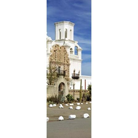 San Xavier del Bac Tucson AZ Canvas Art - Panoramic Images (18 x 6)
