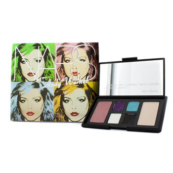 (Andy Warhol Collection Debbie Harry Eye And Cheek Palette (4x Eyeshadows, 2x Blushes)  6pcs)