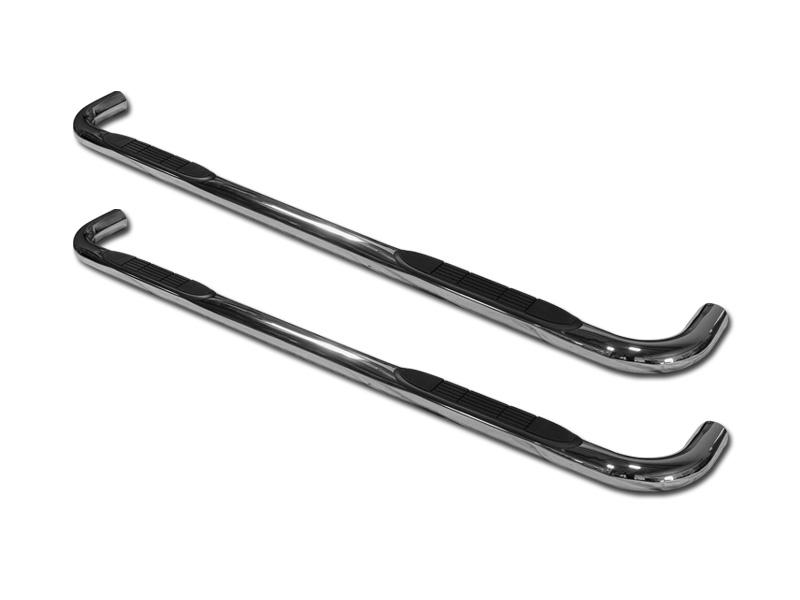 "For 01-14 Silverado//Sierra Crew Cab 4/"" Chrome Side Step Nerf Bars Running Boards"