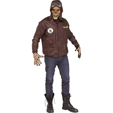 Simple Halloween Scares (Scare Force Mens Adult Demon Aviator Halloween)