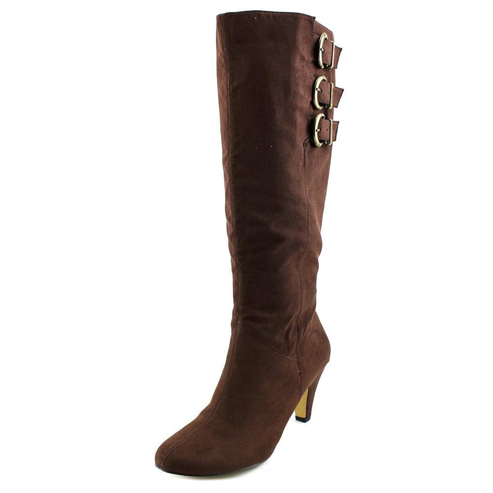 Bella Vita 50-4806 Women WW Round Toe Synthetic Brown Knee High Boot by Bella Vita