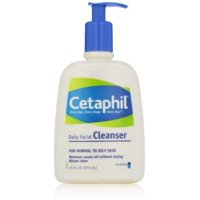 Cetaphil Daily Facial Cleanser Normal to Oily Skin, 16 oz (Pack of 4)