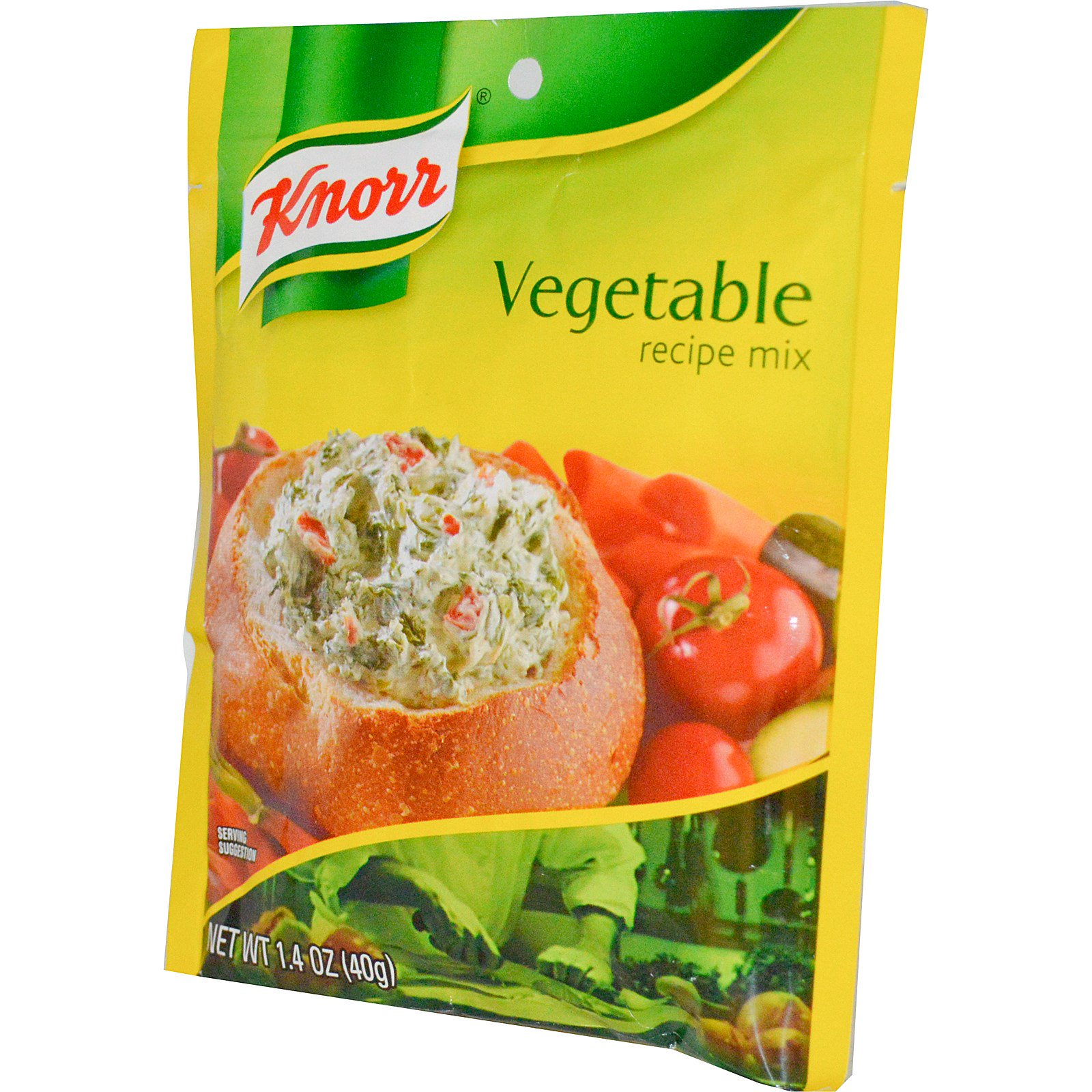 Knorr, Vegetable Recipe Mix, 1.4 oz(pack of 4)