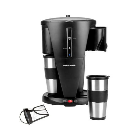 Black And Decker Coffee Maker Strong Button : Black & Decker Dual Coffeemaker, Black - Walmart.com