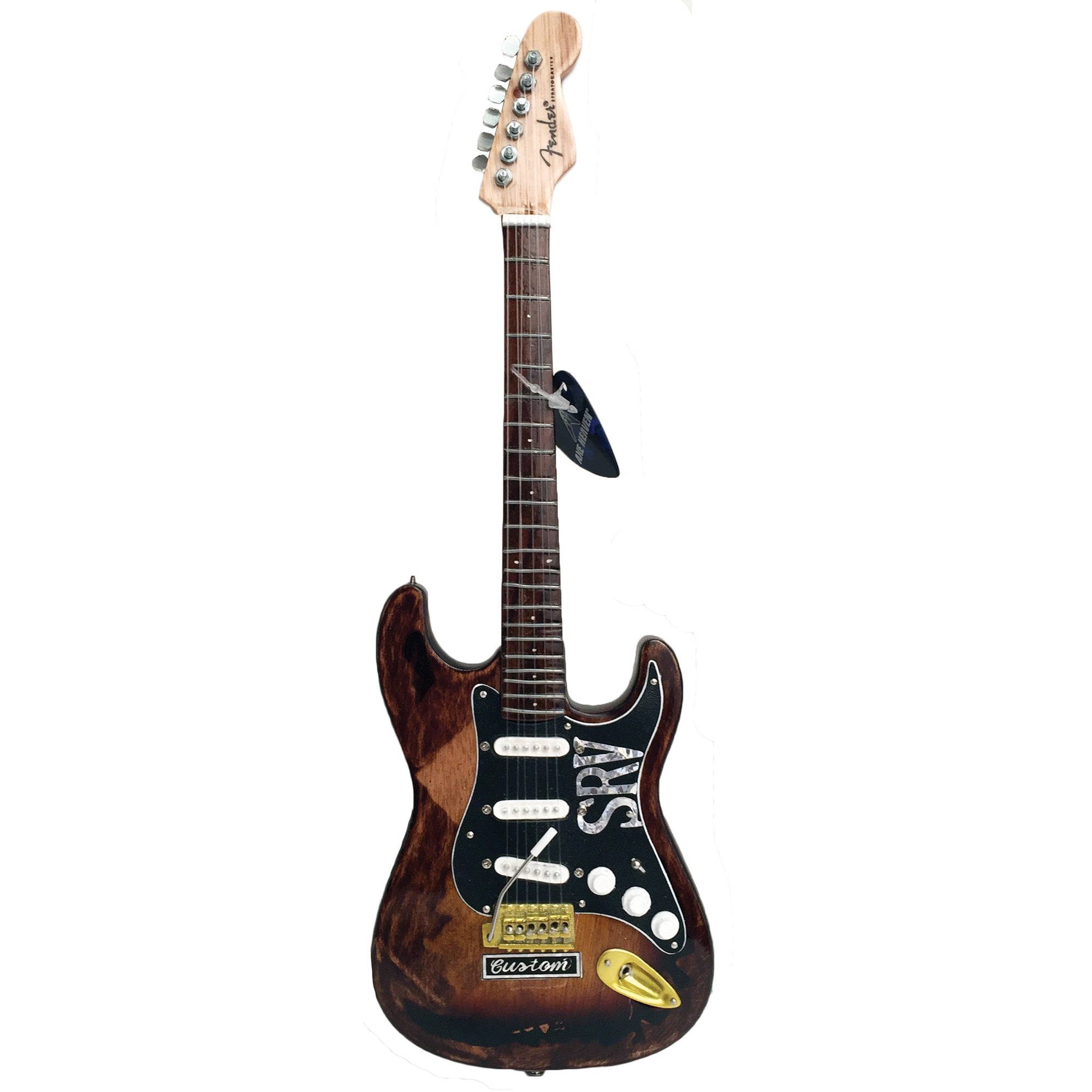 Axe Heaven Stevie Ray Vaughan Custom Mini Guitar Replica Collectible by Axe Heaven