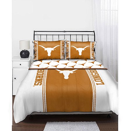Ncaa Texas Longhorns Twin Full Comforter