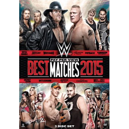 WWE: Best Pay-Per-View Matches 2015 (DVD) (Best Pro Wrestling Matches Of All Time)