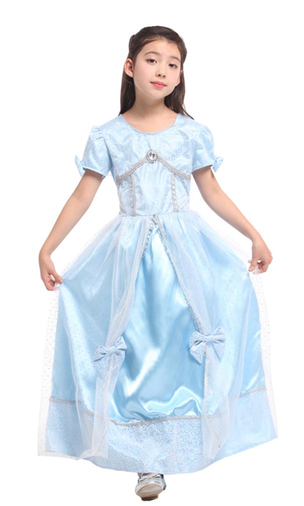Girls' Fairytale Princess Dress-Up Costume Set, M by