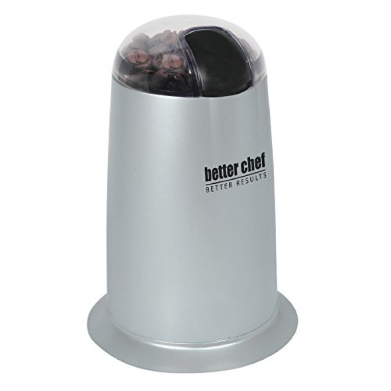 Better Chef Coffee Grinder Plus IM-164S Silver by