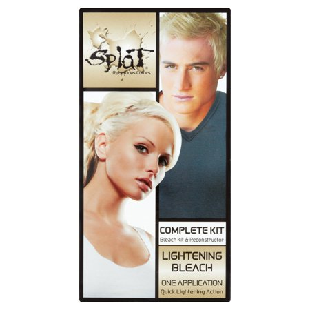 Splat Lightening Bleach Semi-Permanent Hair Dye For All Hair
