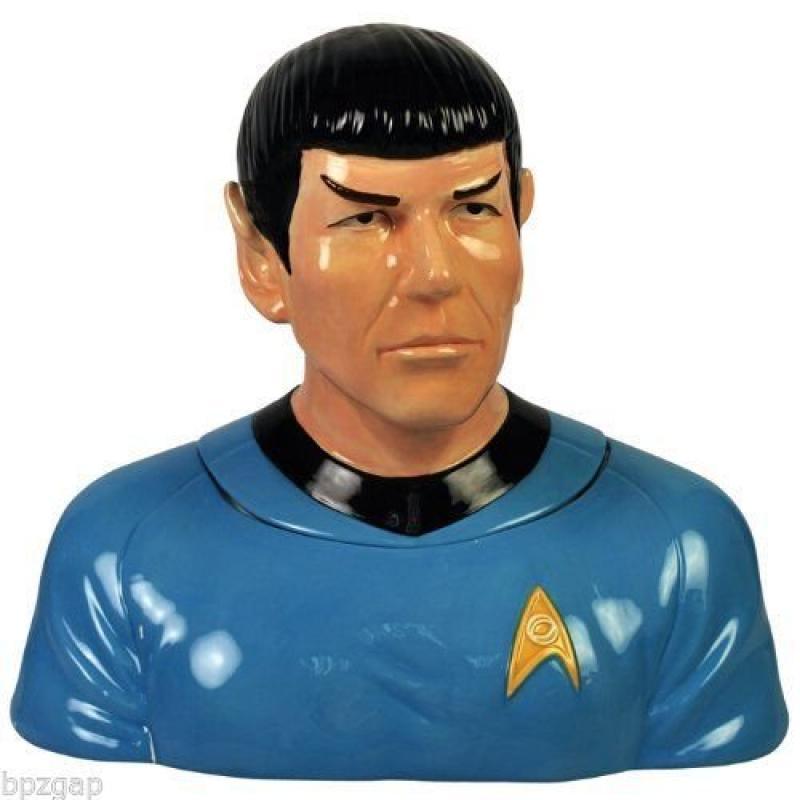 "Westland Giftware Star Trek Spock Cookie Jar, 8""x12""x13"""