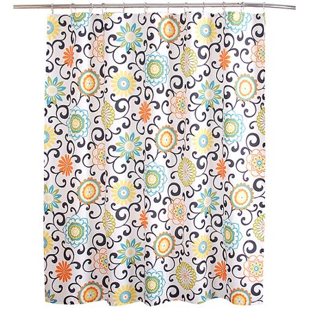 Waverly Pom Collection Shower Curtain