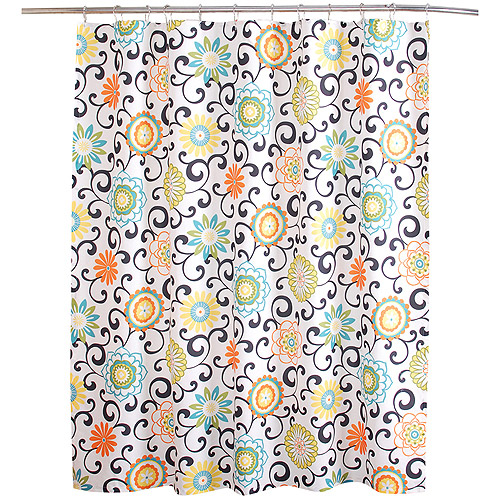 Waverly Pom Pom Collection Shower Curtain