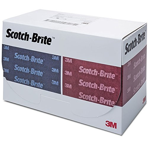 "3M 64659 Scotch-Brite Durable Flex Hand Pad (4-1/2"" x 9"")"