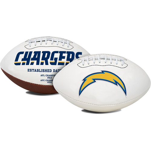 Rawlings Signature Series Full-Size Football, San Diego Chargers