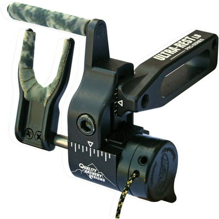 Quality Archery Products Ultra-Rest Pro Series LD Black Arrow (Black Arrow Rest)