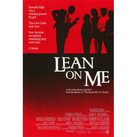 Lean on Me (1989) 11x17 Movie - Phish Halloween 1989